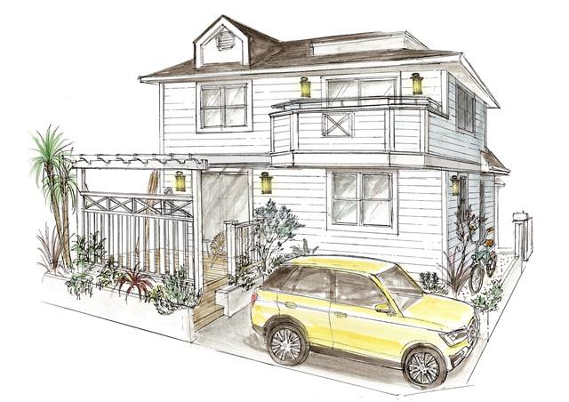 藤沢市・鵠沼海岸:4980万円 海近くのリノベーションハウス 【カリフォルニアの風を】